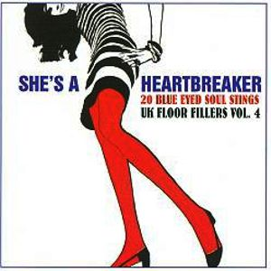 AREA PIRATA - She's A Heartbreaker - 20 Blue Eyed Soul Stings UK
